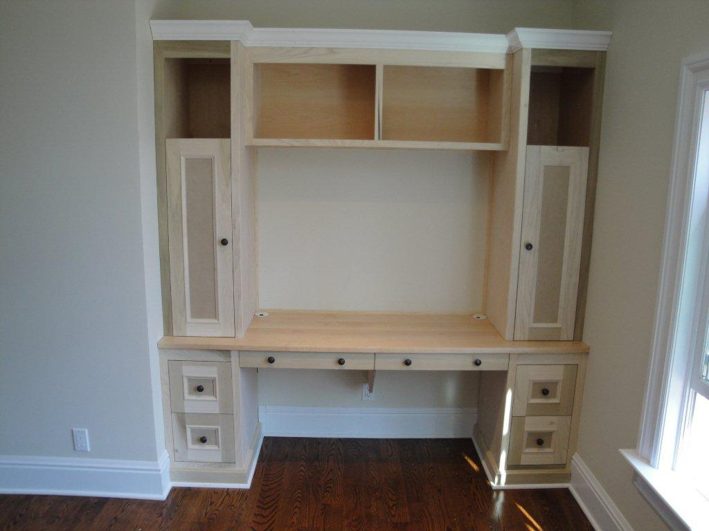 Desk built for children Built in desk