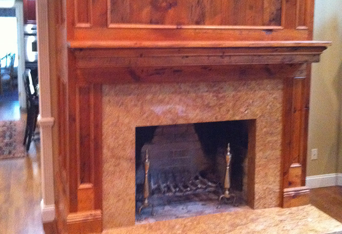 Reclaimed Pine Mantel