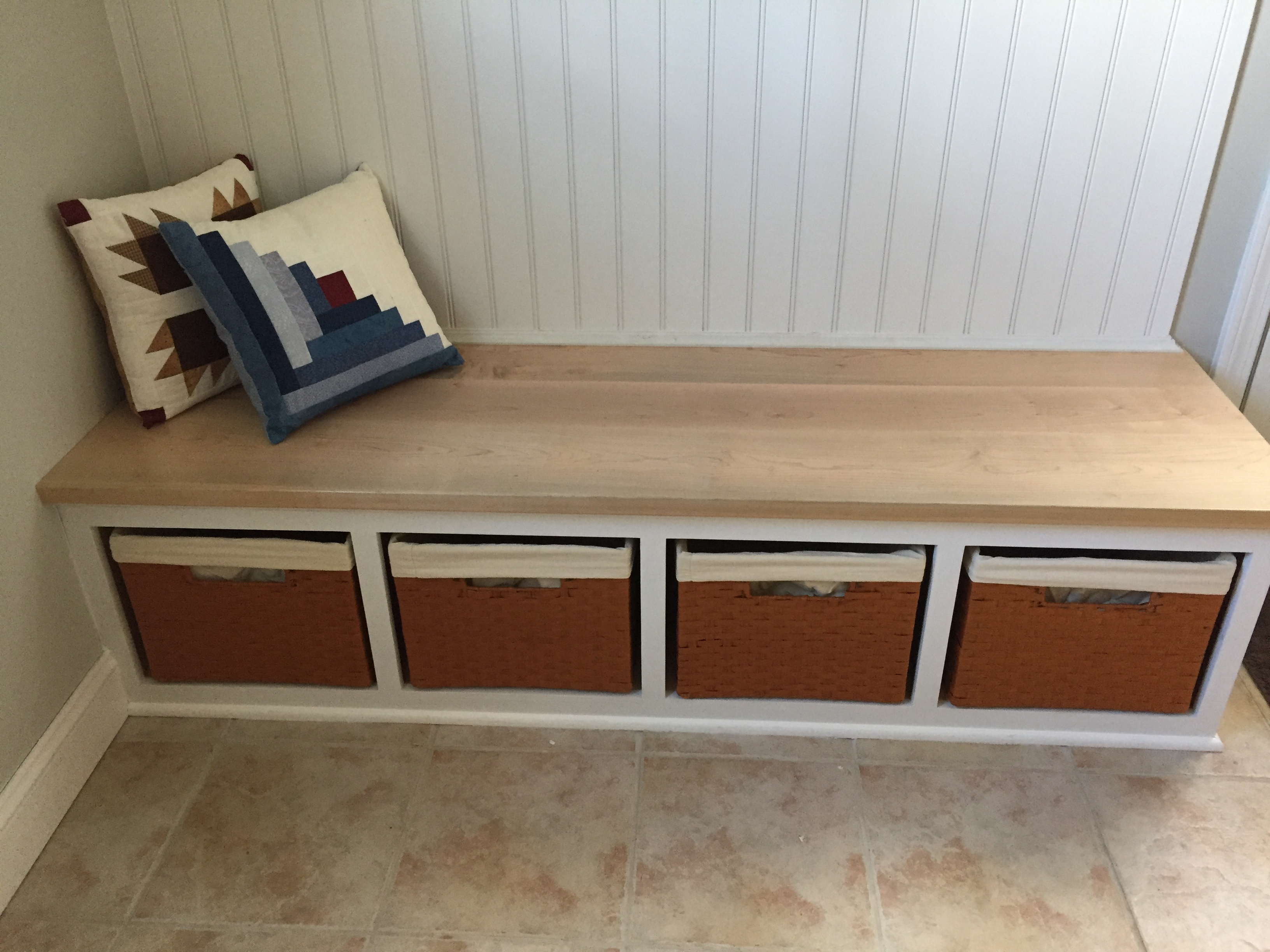 Bench Seat And Coat Rack Walterswoodworking Com