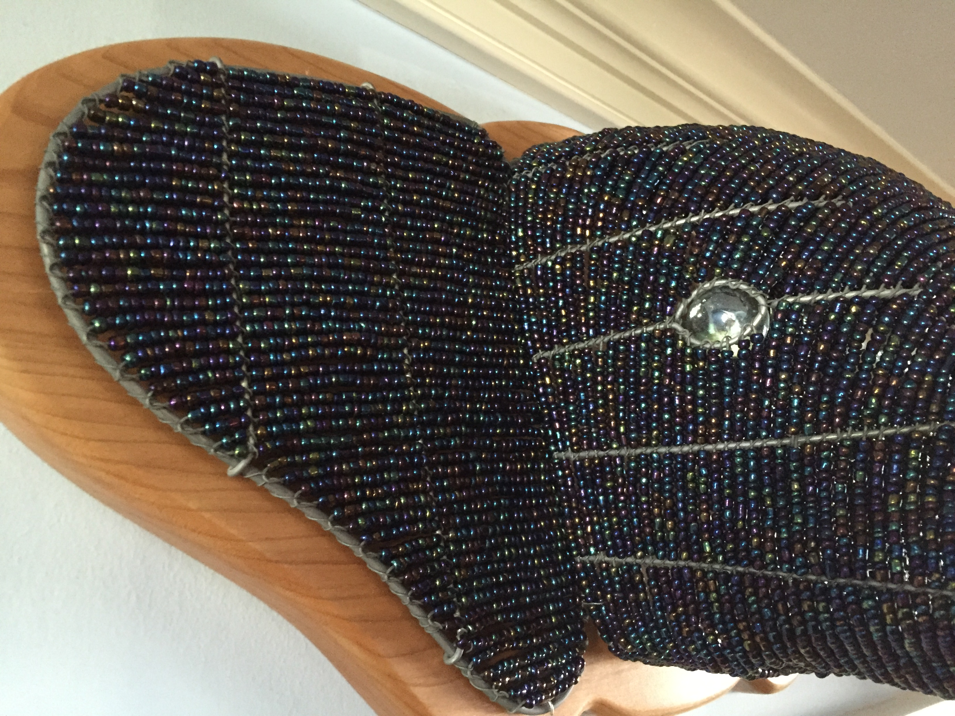 Beaded Elephant Head