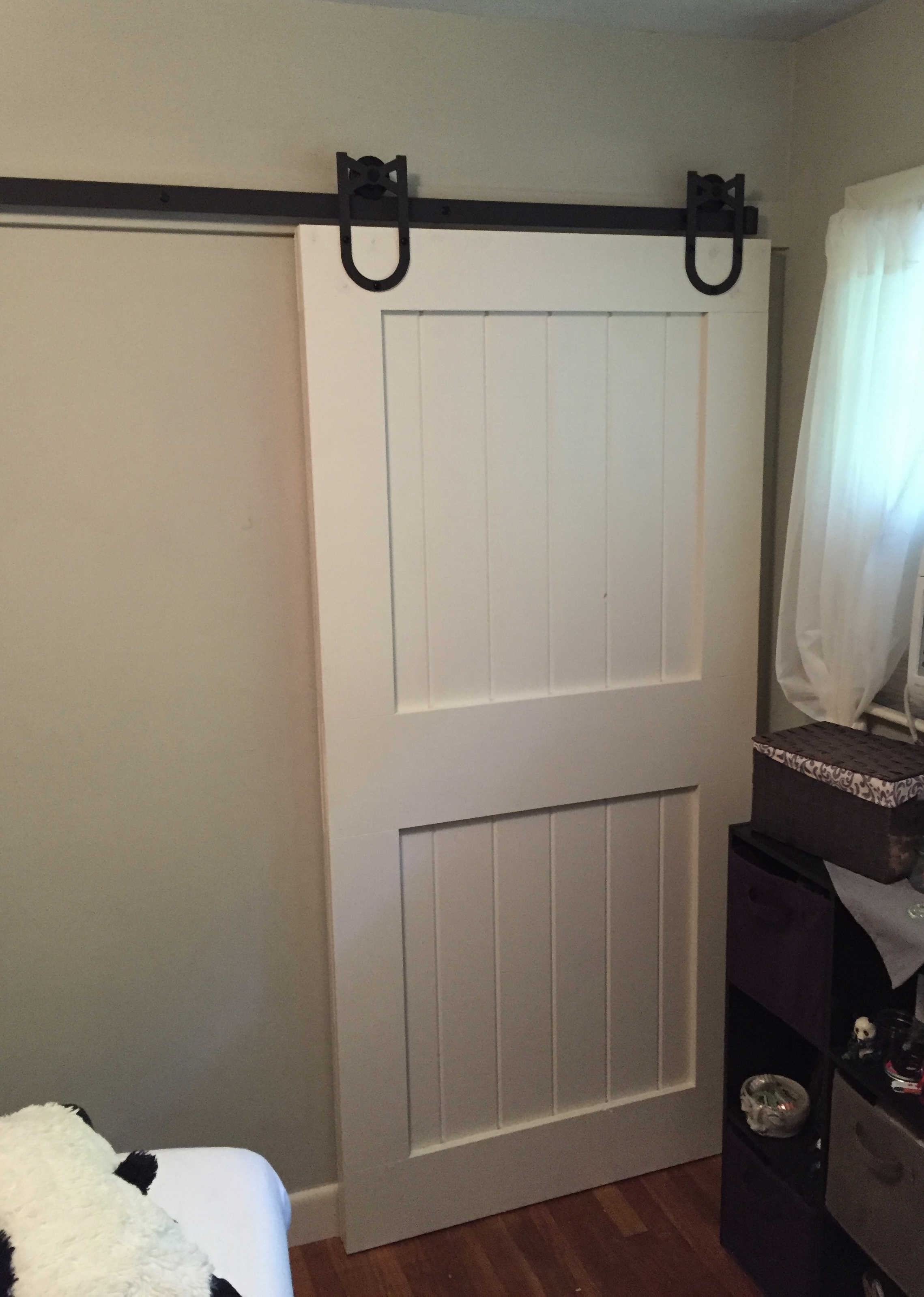 Kids room Barn sliding door