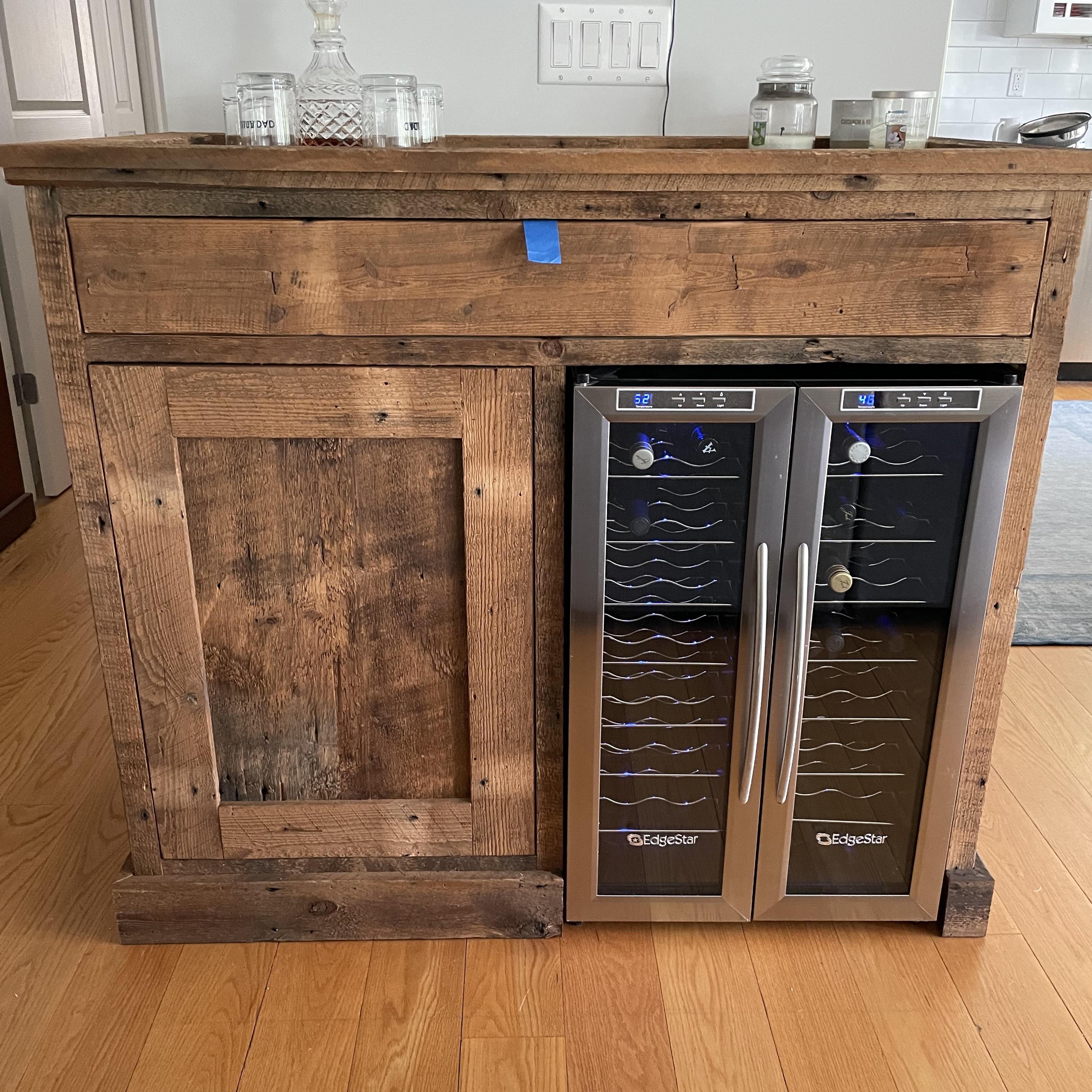 Dry Bar cabinet