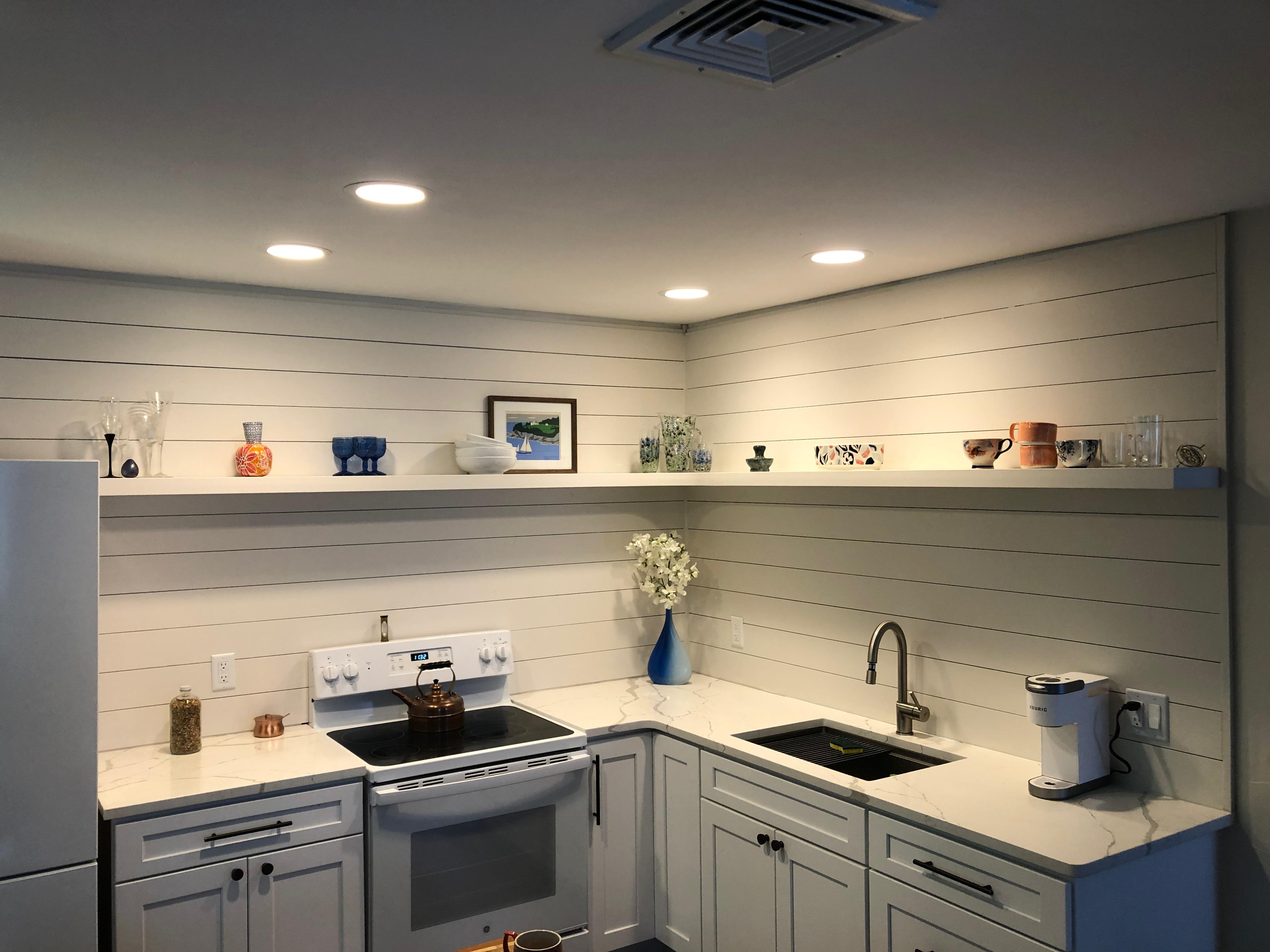 Floating Kitchen shelf